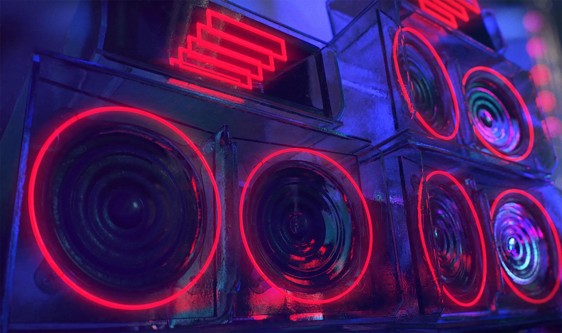 3d ice speakers